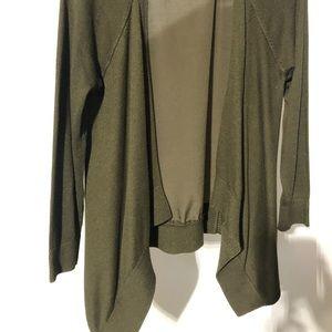 Apt. 9 open cardigan, Dark Green